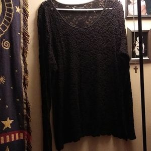2X lace top